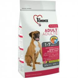 1ST CHOICE DOG ADULT ALL BREEDS SENSITIVE SKIN&COAT 2.72 KG
