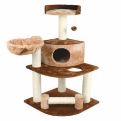 Ansamblu de joaca cu etaj pentru pisici Enjoy 54x54x107 cm