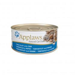 Applaws CAT hrană umedă cu fileuri de ton și crab 70 gr