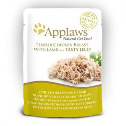 Applaws CAT hrană umedă cu piept de pui și miel în aspic 70 gr