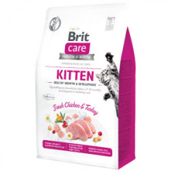 Brit Care Cat Grain-Free KITTEN Healthy Growth and Development 2 kg