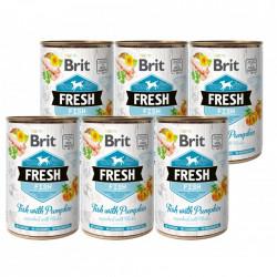 Brit Fresh Pește și dovleac 6 x 400 gr