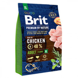 Brit Premium by Nature Adult XL cu pui 3 Kg