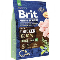 Brit Premium by Nature Junior XL cu pui 3 kg