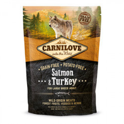 CARNILOVE Dog Large Breed Adult Somon si Curcan 1,5 kg