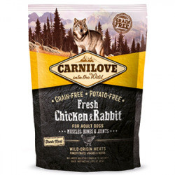 CARNILOVE Fresh Adult Dog Pui și Iepure 1,5 kg