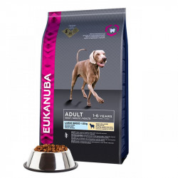 EUKANUBA ADULT LARGE ALL BREEDS MIEL SI OREZ 12 KG