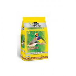 GOLD WINGS CLASSIC TROPICAL FINCH/EXOTICE 400GR
