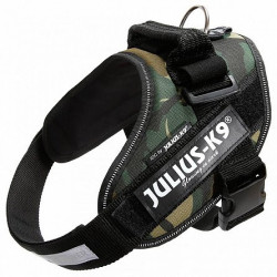 Ham Julius K9, IDC POWER, mărimea 1, 23-30 kg - Camuflaj