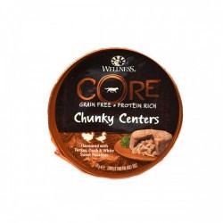 Hrana umeda pentru caini Wellness Core cu curcan rata si cartof dulce 170 g