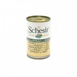 Hrana umeda pisici Schesir orez si pui