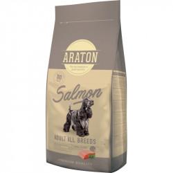 Hrana uscata pentru caini, ARATON, Adult, Somon cu Orez, 15 KG