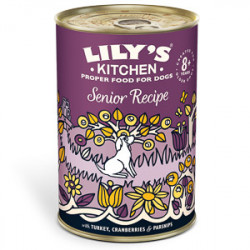 Lily's Kitchen Dog Senior Turkey Recipe 400 g