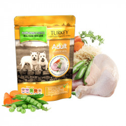 NATURES MENU DOG TURKEY & CHICKEN (300 gr.)