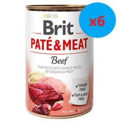 Brit Pate and Meat Beef400 gr