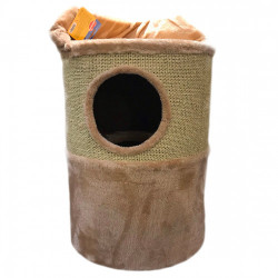 Ansamblu de joaca pentru pisici Enjoy Sisal Butoias 35X35X59cm
