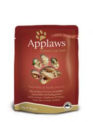 Applaws CAT hrană umedă cu fileuri de ton și creveți în sos 70 gr