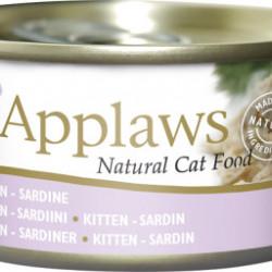 Applaws CAT hrană umedă cu Sardine pentru pisicuțe 70 gr