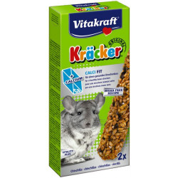 Batoane pentru Chinchilla Vitakraft Calci Fit 112 Gr