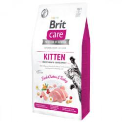 Brit Care Cat Grain-Free KITTEN Healthy Growth and Development 7 kg