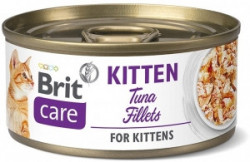 Brit Care Kitten fileuri de ton 70 gr