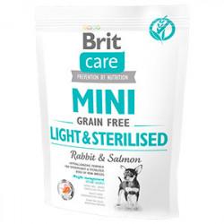 Brit Care Mini Grain-Free Light & Sterilised 400 gr