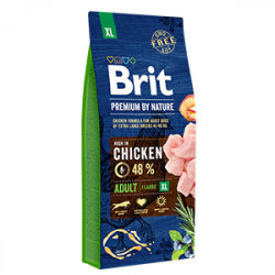 Brit Premium by Nature Adult XL cu pui 15 Kg