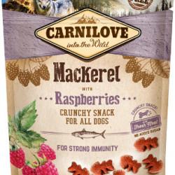 Carnilove Crunchy Snack cu macrou și zmeură 200 g
