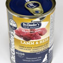 Dr. Clauder's Selected Meat Miel si Orez 400 g