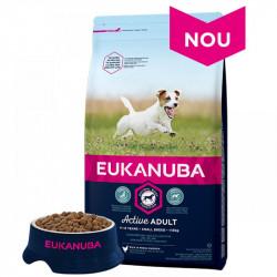 EUKANUBA ADULT SMALL CU PUI - SAC 3 KG