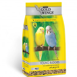 GOLD WINGS CLASSIC YOUNG BUDGIE/PUI PERUS 400GR