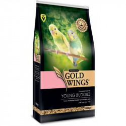 GOLD WINGS PREMIUM YOUNG BUDGIE / PUI PERUSI 1KG
