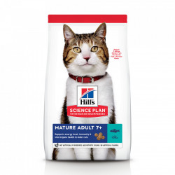 Hill's SP Feline Mature cu ton 1.5 kg
