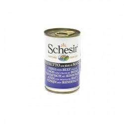 Hrana umeda pisici Schesir vita file si ton