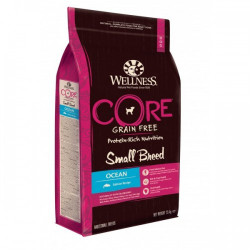 Hrana uscata pentru caini Wellness Core Small Breed cu somon 1.5 kg
