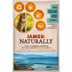 IAMS Naturally Adult Cat cu Cod Oceanic
