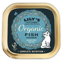 Lily's Kitchen Cat Adult Organic Fish Dinner 85 g