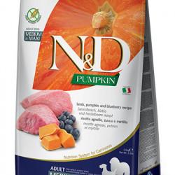 N&D Dog Grain Free Pumpkin Medium Large Miel 12 kg