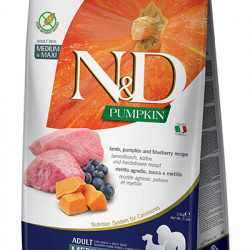 N&D Dog Grain Free Pumpkin Medium Maxi Miel 12 kg