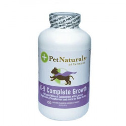 Pet Naturals K-9 Complete Growth 120 tablete