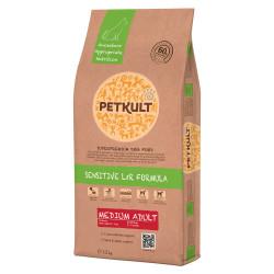 Petkult Sensitive Medium Adult miel si orez 12 Kg