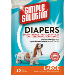 Simple Solution Pampers L - 12 bucăți
