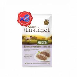 True Instinct No Grain Dog Mini Pate curcan 8 x 150 gr
