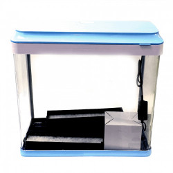 Acvariu din sticla KINGWAY SL-07 BLUE 48x29x48cm