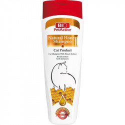 BIOPET Natural Honey Shampoo CATS 400ML