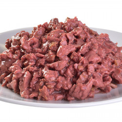 Fileuri de curcan si somon în sos 85 gr