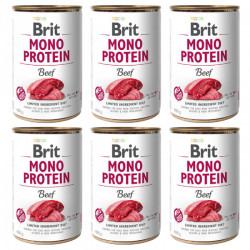 Brit Mono Protein Vită 6 x 400 gr