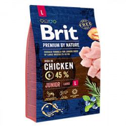 Brit Premium by Nature Junior L cu pui 3 Kg