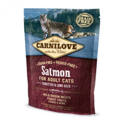 Carnilove Cat Sensitive & Long Hair Somon 400 g