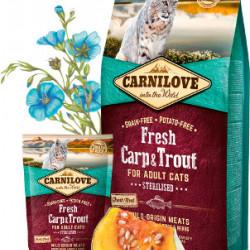 Carnilove Cat Sterilised Fresh